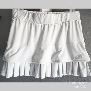 3/$20 Adidas Climacool White Pleaded Tennis Short